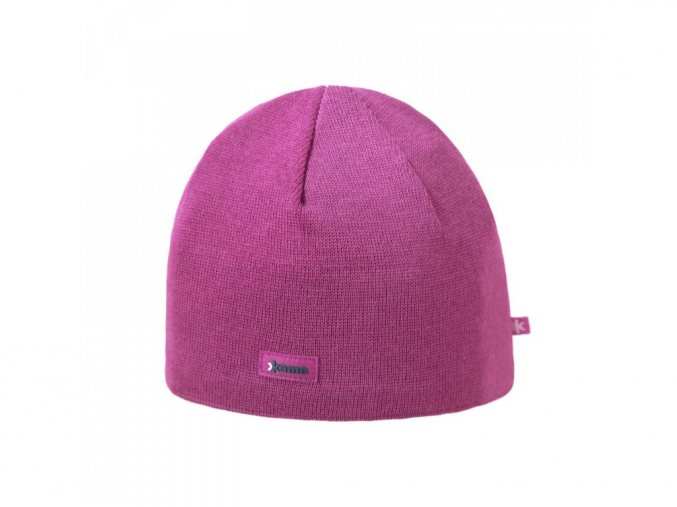 KAMA A02 pletená čepice 114 růžová (varianta M)
