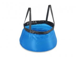 LifeVenture Collapsible Bowl blue 10l