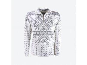 KAMA 5009 dámský svetr 100 bílá