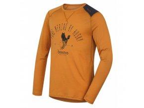 HUSKY MERINO páns. triko DL SHEEP oranž.