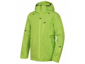 HUSKY MONTRY M výrazně zelená bunda