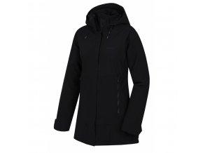 HUSKY NIGALO L černá dámský kabát