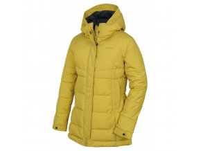 HUSKY NILIT L žlutozelená dámský kabát