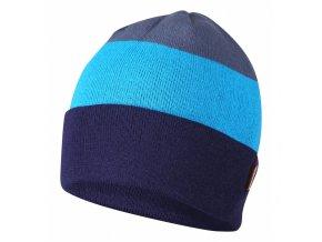 HUSKY CAP 24 černá/tyrkysová