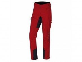 HUSKY KESON L červená soft. kalhoty
