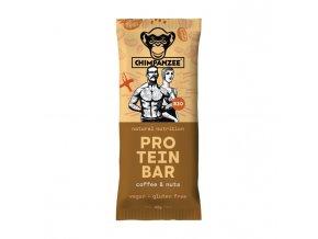 CHIMPANZEE bio protein bar káva s ořechy