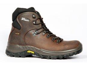 GRISPORT 10303 Classic Dakar kožená obuv (varianta tm.hnědá 47)
