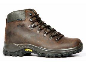 GRISPORT 10353 Civetta Dakar kožená obuv (varianta tm.hnědá 47)
