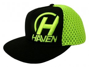 1 Cap black green