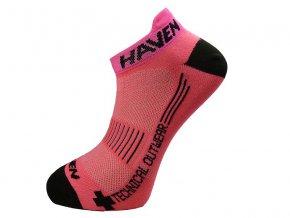 HAVEN SNAKE Silver NEO pink/black (varianta 8-9(42-43))