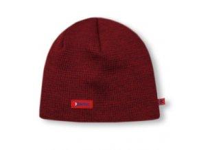 KAMA A02 pletená čepice 104 červená (varianta M)