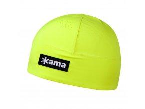 KAMA A87 102 žlutá běžecká čepice (varianta M)