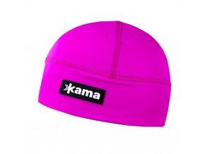 KAMA A87 114 růžová běžecká čepice (varianta M)