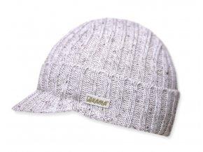 KAMA LK02 112 přírodní pletená čepice