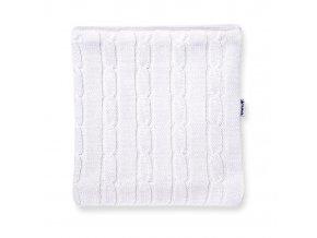 KAMA S15 100 bílý nákrčník pletený