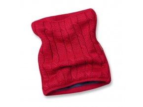 KAMA S15 104 červený nákrčník pletený