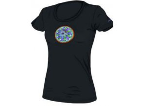 SALTIC MANDALA triko dámské (varianta černá S)