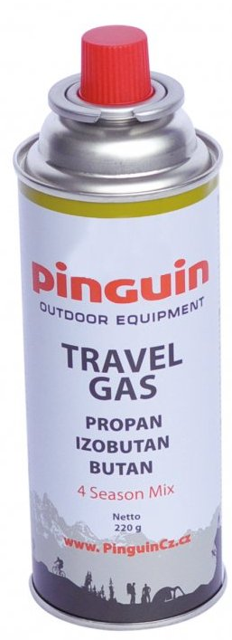 PINGUIN propan-butan 220g cartidge