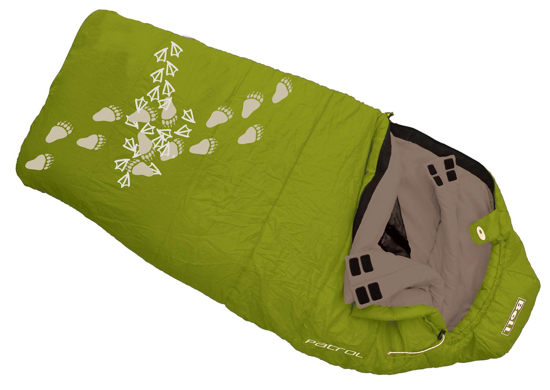BOLL PATROL bamboo dětský spací pytel varianta: pravý