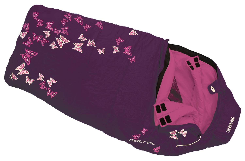 BOLL PATROL blueberry dětský spací pytel varianta: levý