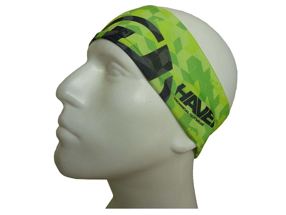 HAVEN THIN sportovní čelenka green varianta: L-XL