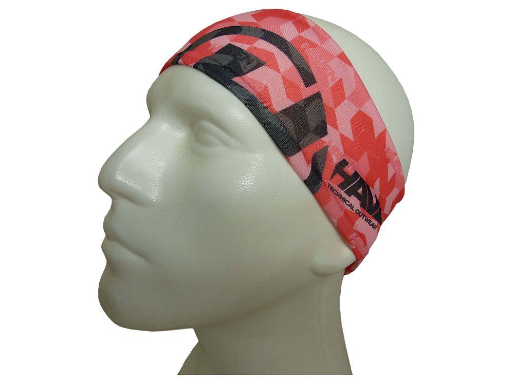 HAVEN THIN sportovní čelenka pink varianta: L-XL