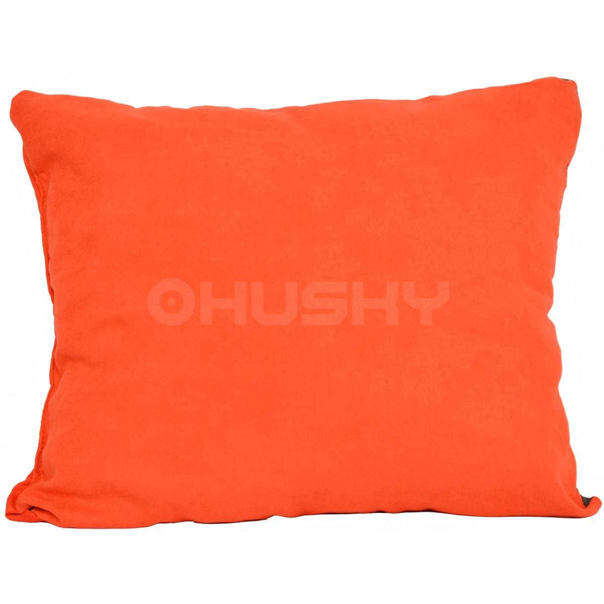 HUSKY PILLOW polštář oranžový