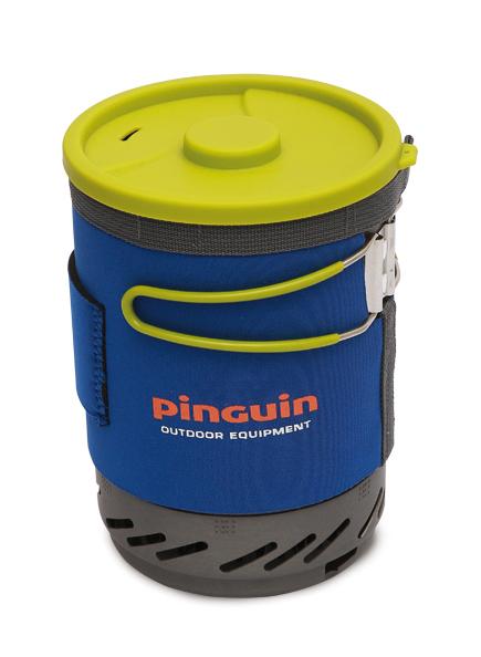 PINGUIN AURA integrovaný vařič s hrncem varianta: modrá