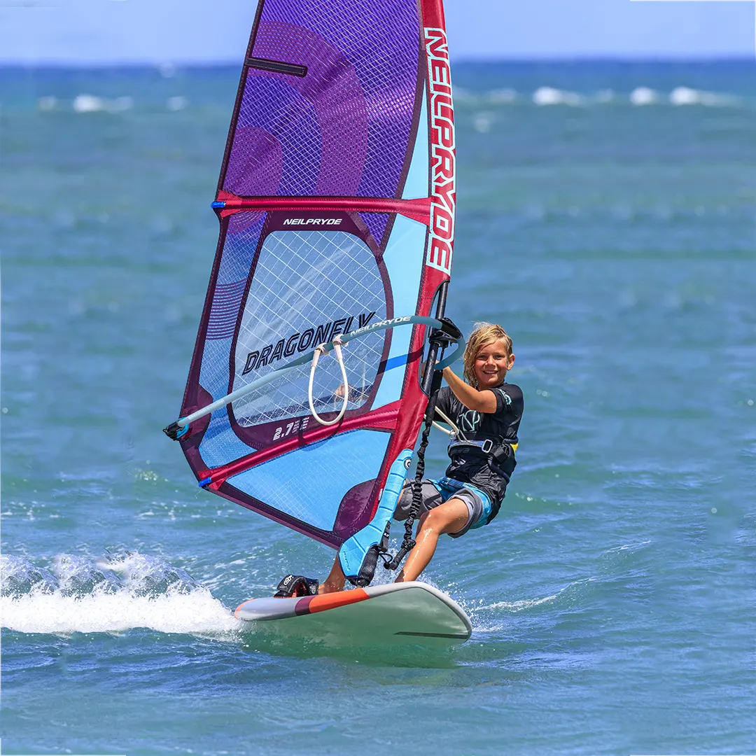 detska plachta na windsurfing dragon fly neilpryde karlin shop