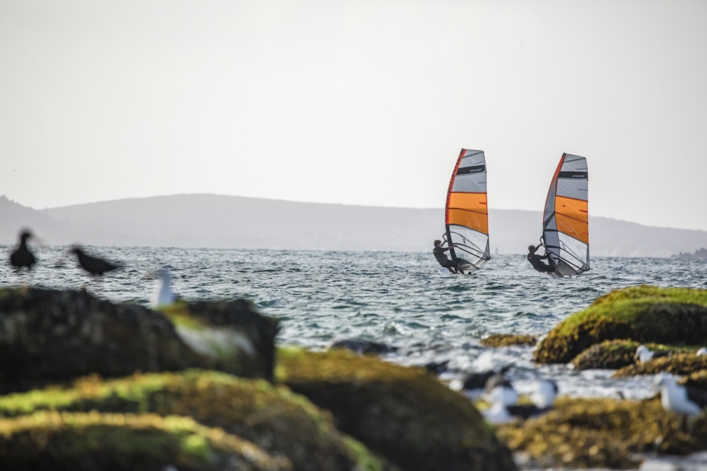 orange fire y25 rrd windsurfing karlin obrazek