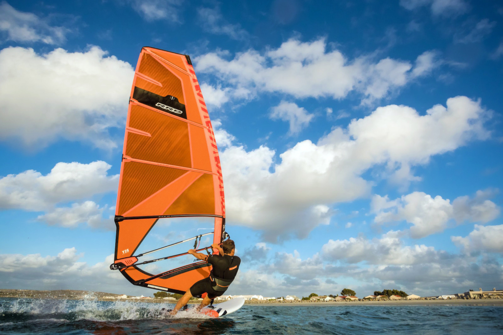 plachta move freestyle wave rrd y25 windsurfing karlin obrazek orange