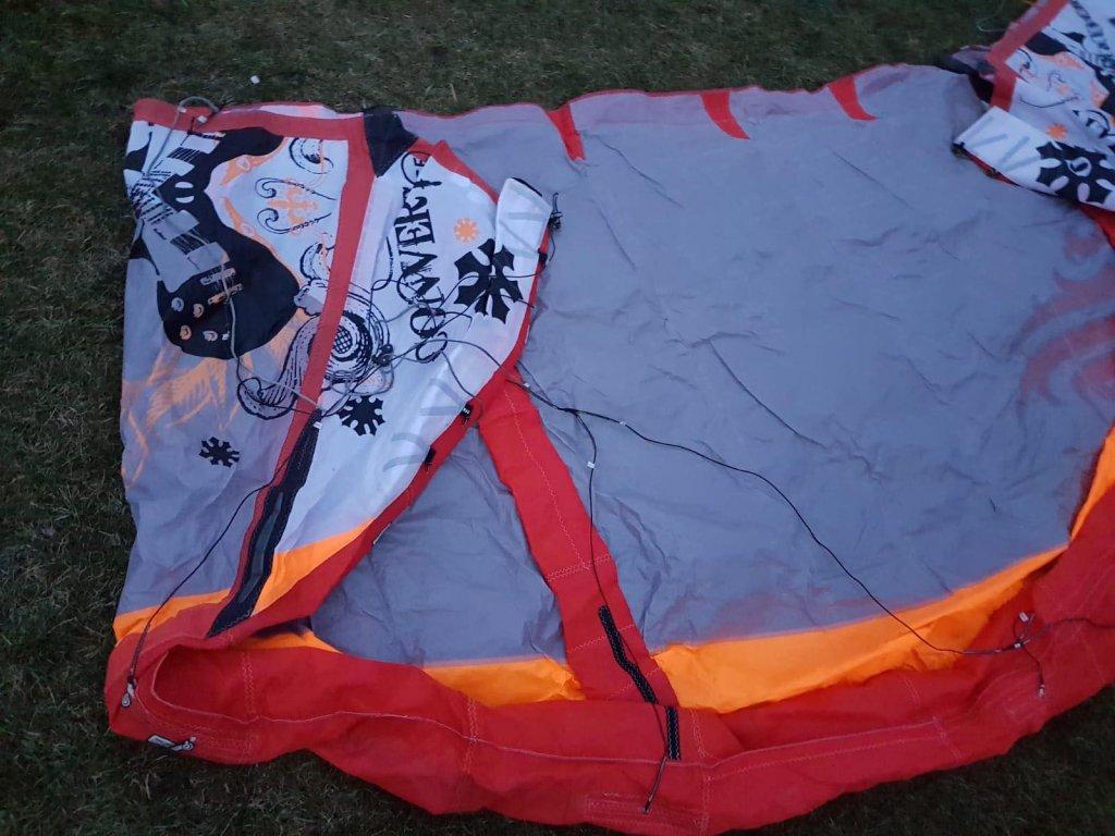 convert cabrinha bazar kite nafukovaci