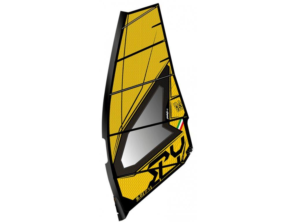 yellow point 7 spy freestyle wave plachta windsurifng karlin