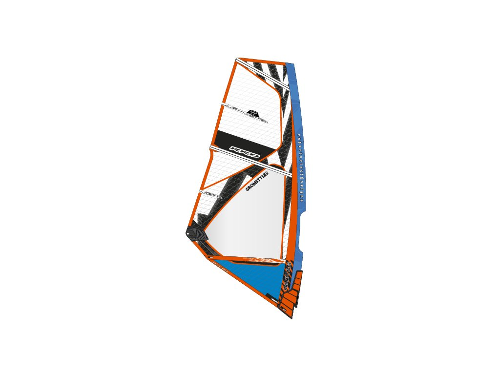 gromstyle mk5 blue windsurfing karlin plachty
