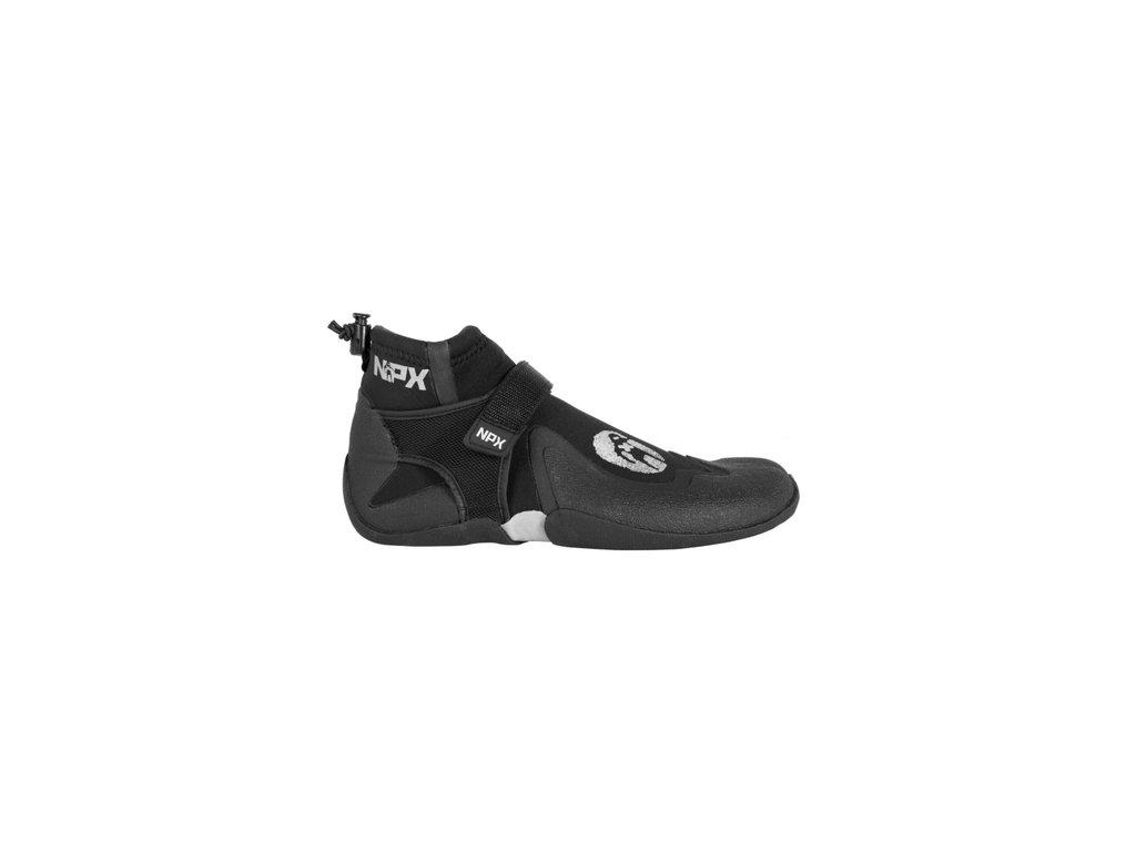 Neoprenové boty Npx Assassin 3mm s děleným palcem nízké