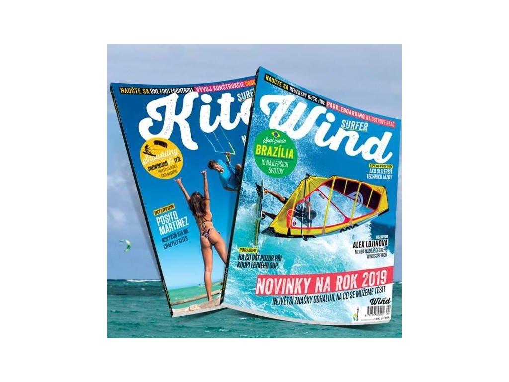 casopis windsurfer a kitesurfer windsurfing karlin