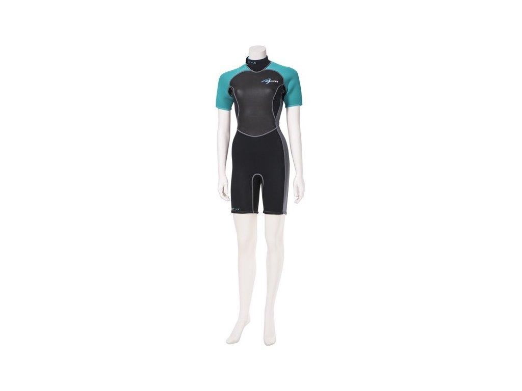short style comfort ascan damsky neopren windsurfing karlin