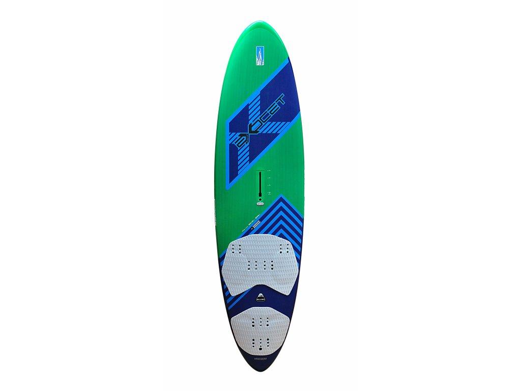 cross silver exocet plovak windsurfing karlin