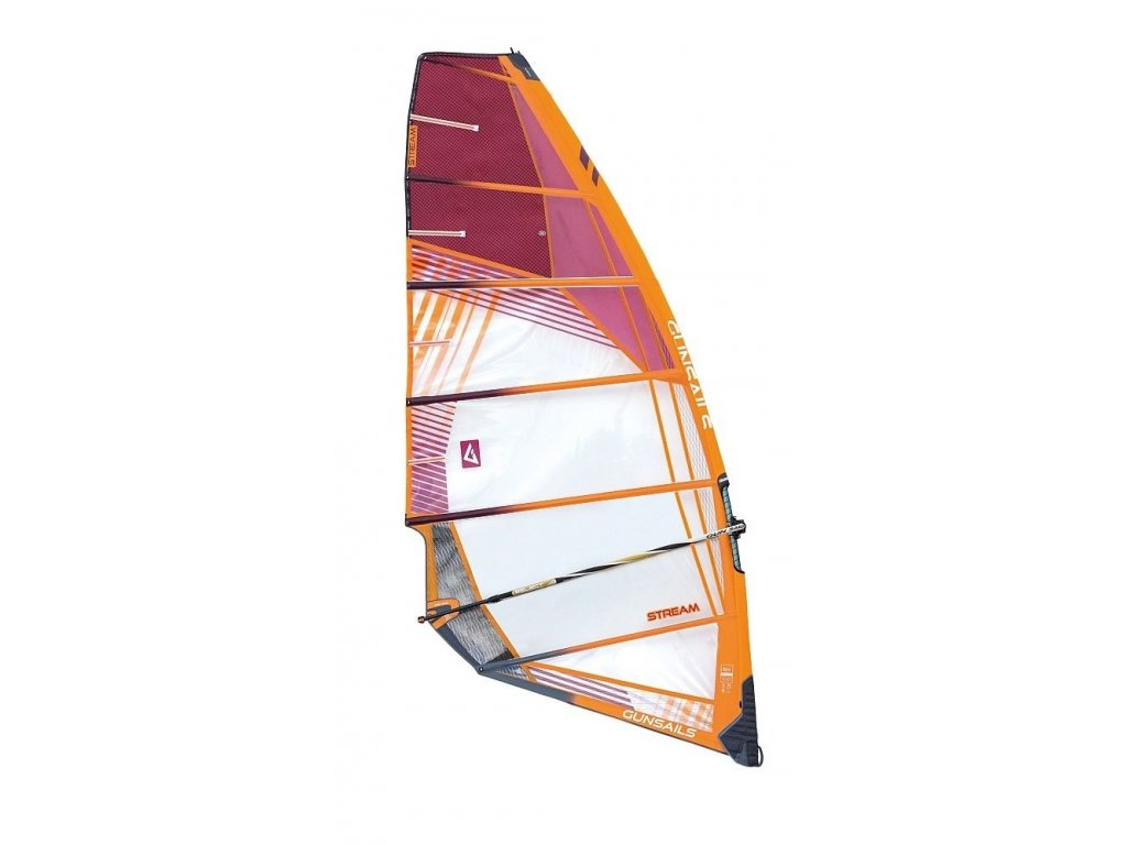 gunsails stream freeride wind plachta windsurfing karlin