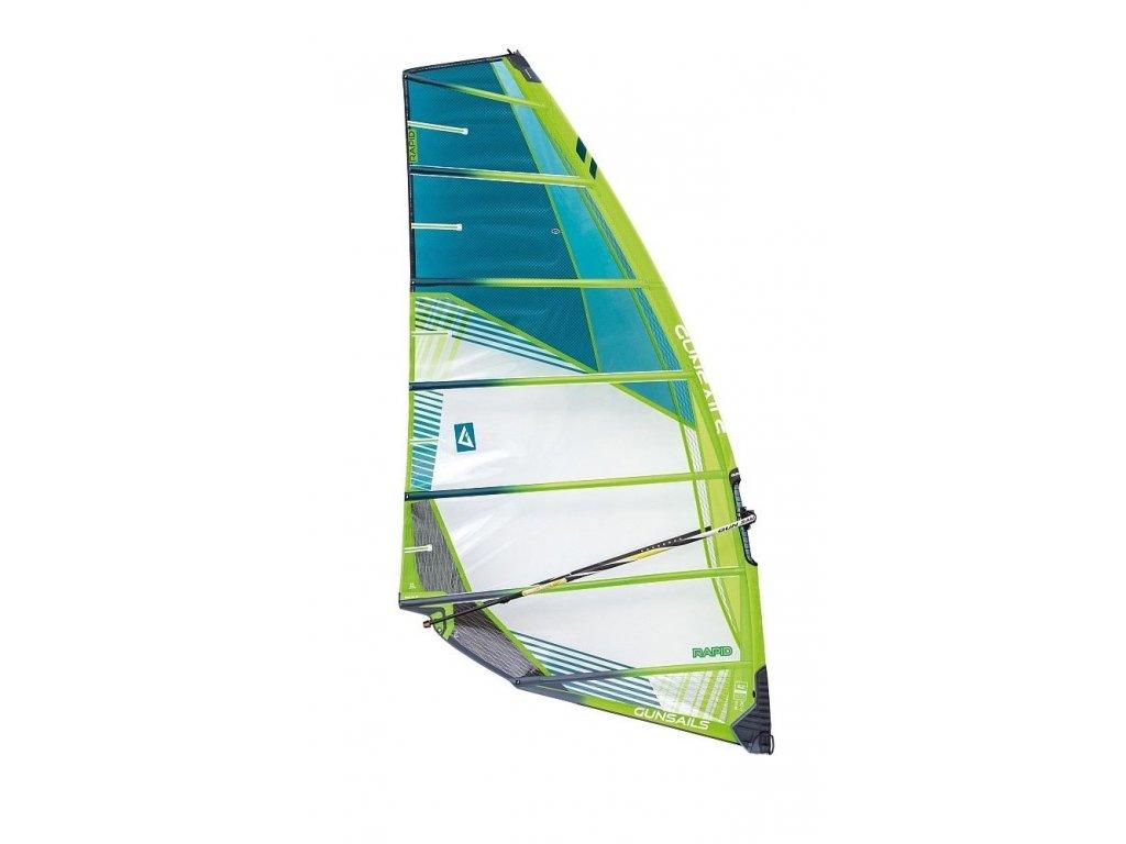 gunsails rapid rychla bez kembrova plachta windsurfing karlin plachta