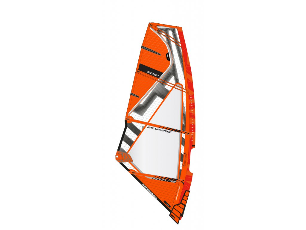 Style Pro MK7 2019 orange plachta na freestyle rrd windsurfing karlin