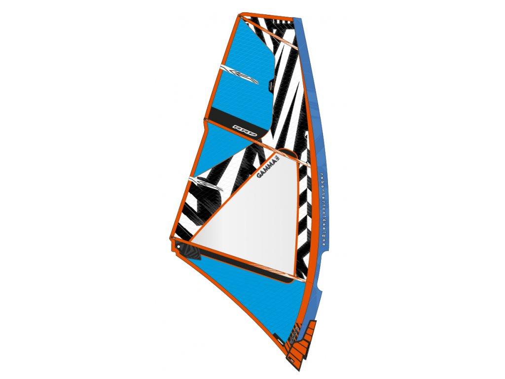 gamma blue mk4 rrd wave plachta na windsurfing karlin