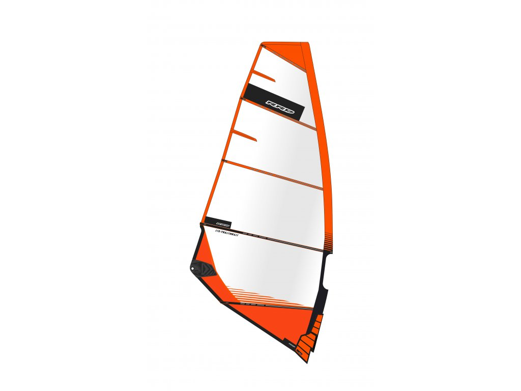 placha freeride x tra mk6 orange rrd windsurfing karlin