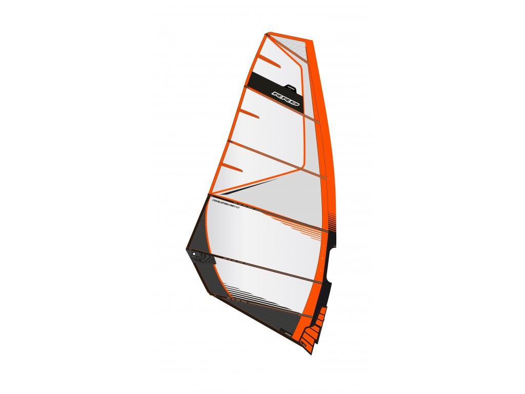 evolion mk11 orange black rrd freerace plachta windsurfing karlin