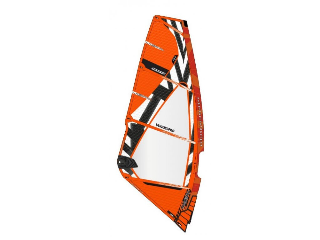 PRO VOGUE MK9 rrd windsurfing karlin wave plachta Orange