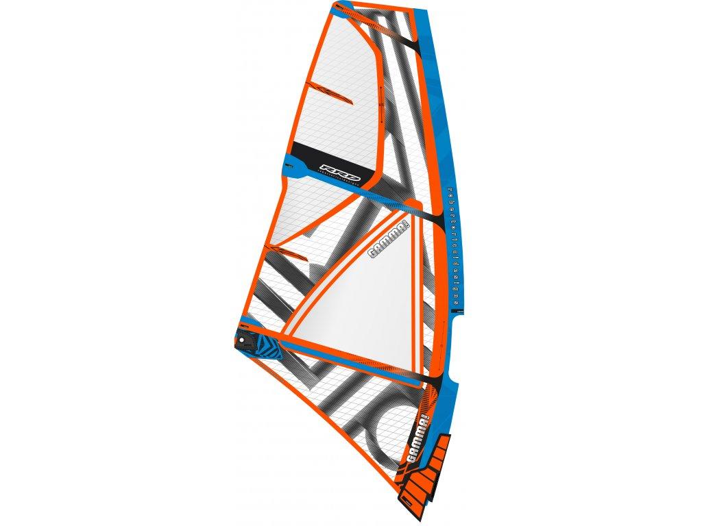 Gamma mk3 rrd 3spirova wave plachta windsurfing karlin Blue