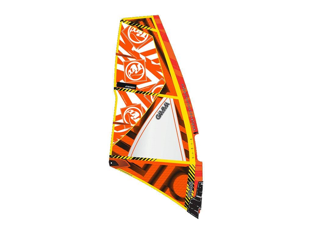 gamma mk2 rrd wave plachta orange windsurfing karlin