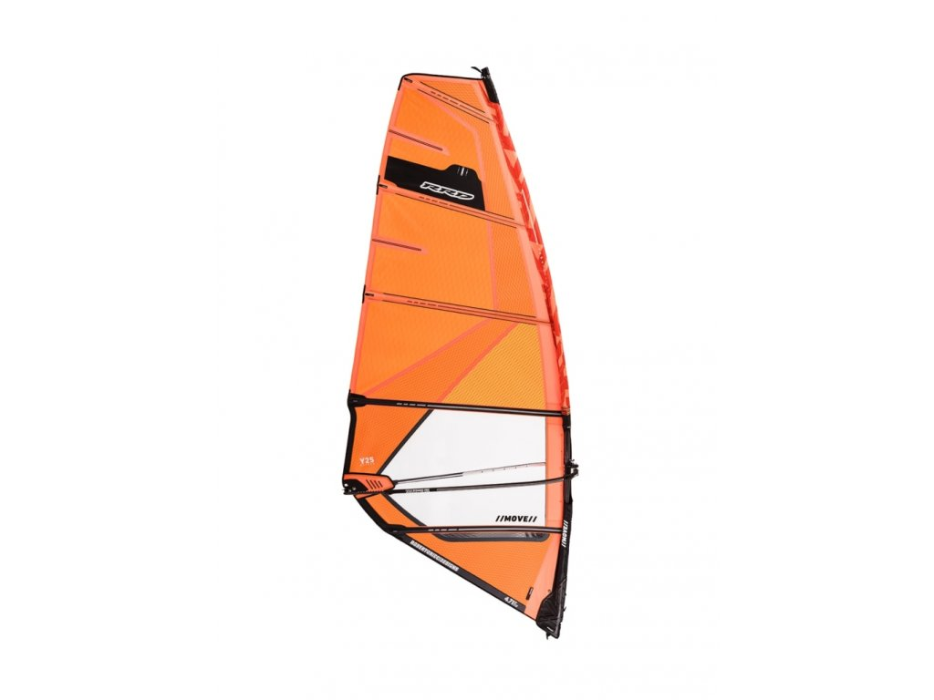 plachta move rrd y25 windsurfing karlin orange