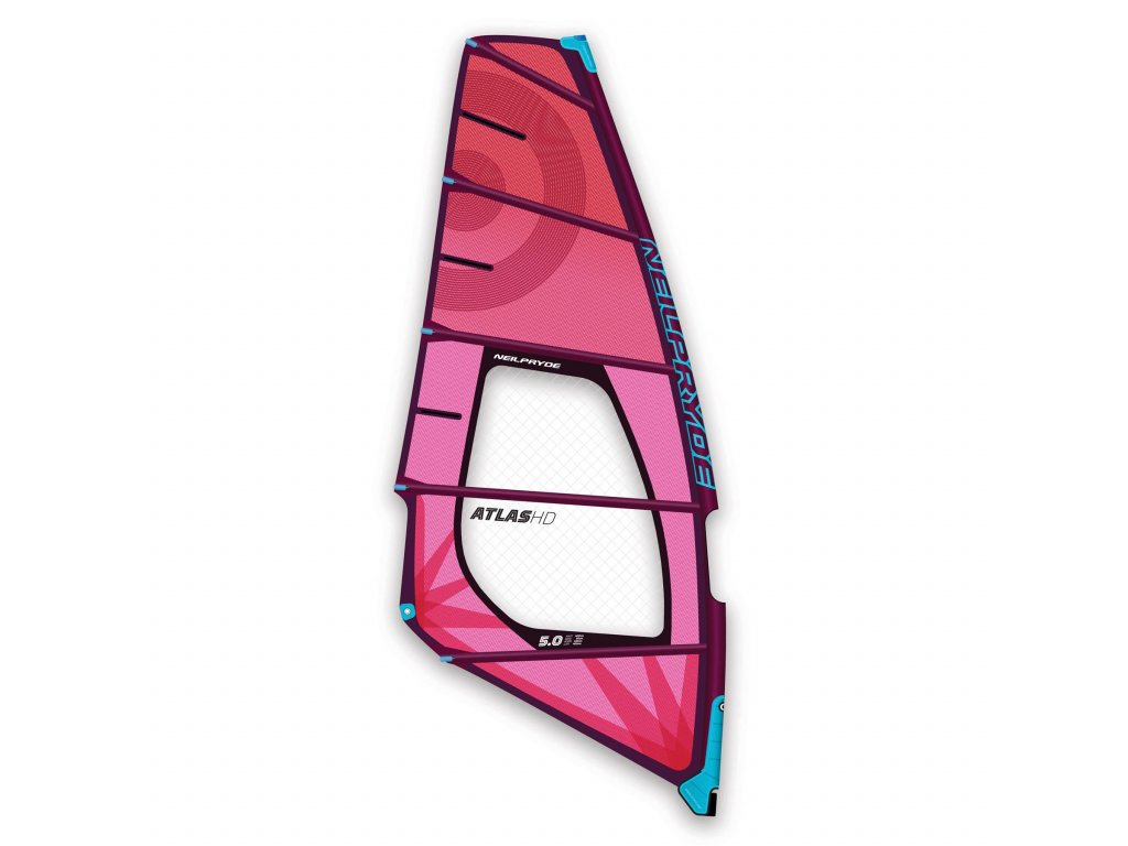 Atlas HD neilpryde plachta power wave wave windsurfign karlin