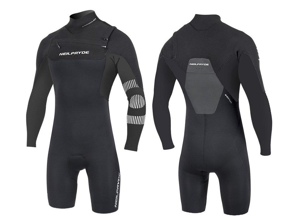 springsuits black mission dlouhy rukav neilpryde 20220 black